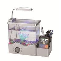 Mini Desktop USB Aquarium / mini fish tank / led Desktop Aquarium