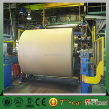 China henan fuyuan art and kraft paper making machine price for small paper mill