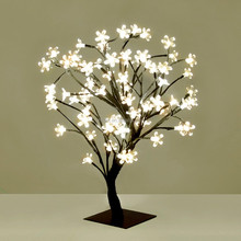 light up tree branches for indoor wedding decoration, led sakura tree light, decoration wedding