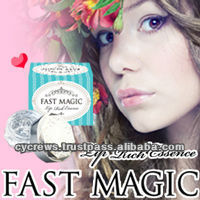 FAST MAGIC LIP RICH ESSENCE SEXY KISSABLE LUSCIOUS EROTIC SWEET MOIST