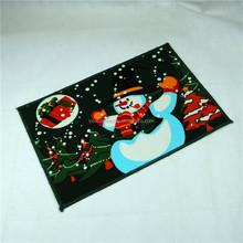 Merry Christmas Festival pattern print door mat anti-slip rugs