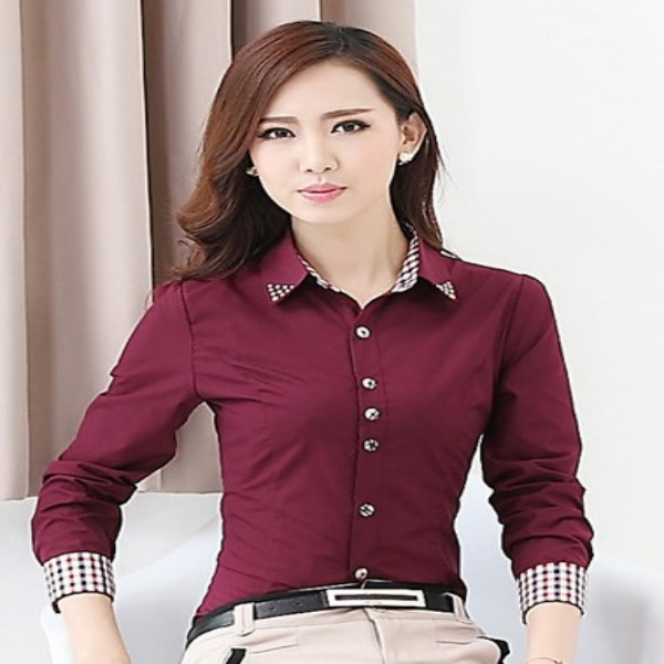 2014 office uniform designs for women blouse buy ladies for Office uniform design 2014