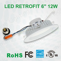 UL cUL energy star approved 9W 11W 14W 15W with high reflective CRI80 85lm 13W 18W led downlight retrofit led lighting