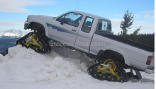 rubber track system for Toyota V6