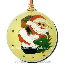 Fashionable hot sale cute Christmas decoration ball