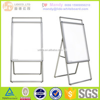 whiteboard with stand for kids,metal easel frame,flip chart stand
