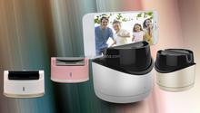 2015 Newest Self-timer Self Timer Selfie Robot for Phone,Pocket Swivel Selfie Robot With Bluetooth Wireless Shutter