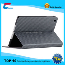 High quality weave PU leather case for ipad 2/3/4,leather case factory for ipad ,for ipad leather case with stand