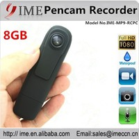 New product fashionable design full HD 1080P portable mini 8gb pencam recorder with video and audio recording, photo taking