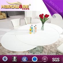 Mesa de jantar oval extensível / moderno de jantar extensível