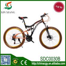 21/24 velocidad alta calidad marco de acero de carbono MTB bike, buen estilo diseño