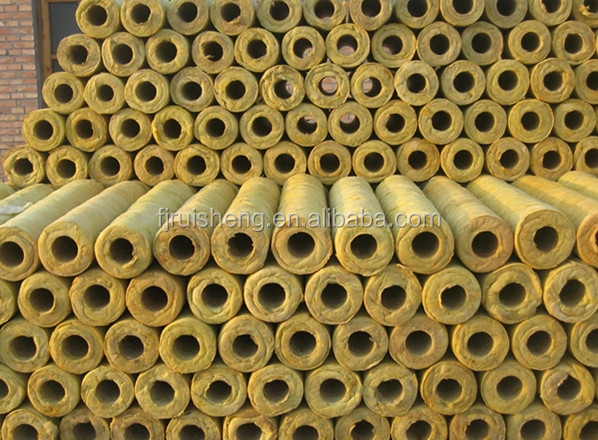 Mineral wool production line mineral wool pipe insulation for Mineral wool pipe insulation weight per foot