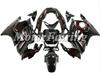 Fairing Kit for Honda CBR600 F3 1998 1997 CBR 600RR 1997 1998 CBR 600 97 98 cbr 600 f3 bodykit bodywork black red flames
