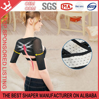 Women's Slim Arm Correct Back Posture humpback prevent Long Sleeve Shaper W175