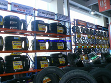 Guangzhou warehouse rack for tyres with various layers and colour