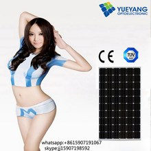 high efficiency good poly solar panel single for Solar home use 250w poly solar panel for Solar Power System with TUV