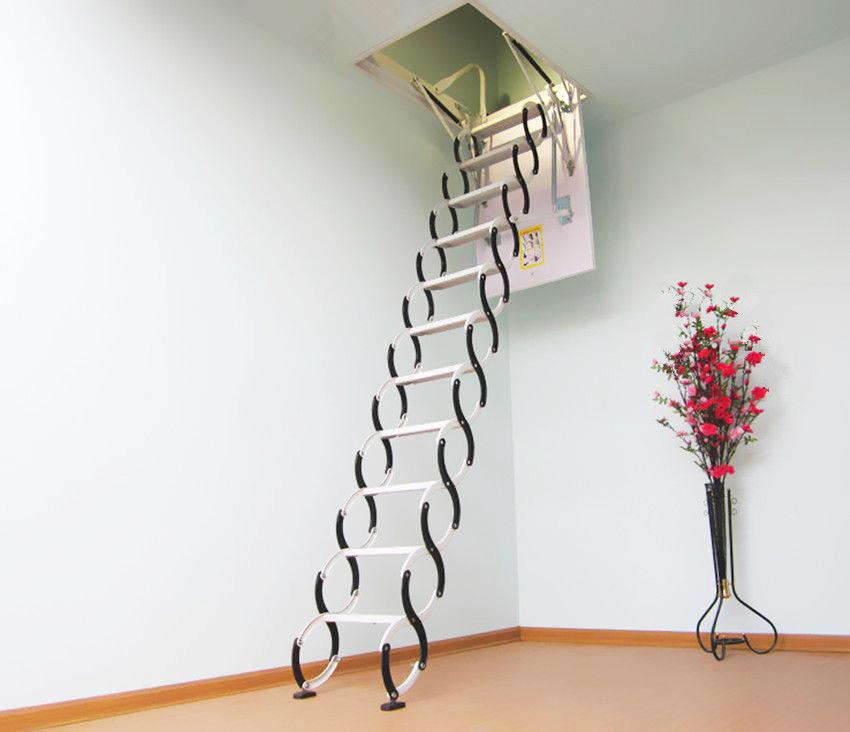 Electric Attic Folding Stairs Space Saving Loft Ladders