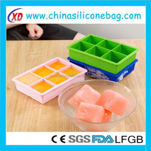 silicone waterproof led ice cube lighting