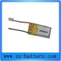 new product 200815 battery small 3.7v li-ion mini battery 9mah