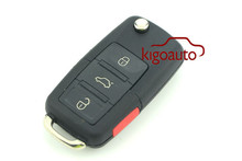Remote key 3button with panic HU66 315mHZ 50W 1JO 959 753 Tfor VW remote key
