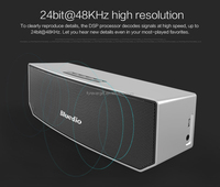 Portable Bluetooth speaker wireless Subwoofer Soundbar Revolution Magnetic driver 3D stereo music