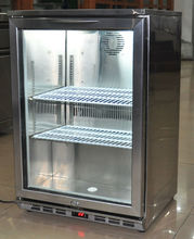 138 L desktop beverage chiller, soft drink cooler