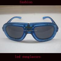 High brightness Light Up wayfarer led sunglasses