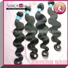 1b# body wave hair extension made in china for hair extension salon