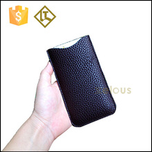 Mobile phone leather case,soft feel phone case,genuine leather phone case
