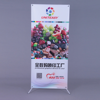 2015 new Advertisement product portable Butterfly X Banner size