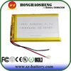 606090 Rechargeable lipo battery 3.7v 4000mah battery for mobile phones with 4000mah battery