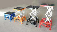 Hydraulic Scissor Lift Stand Motorcycle Table