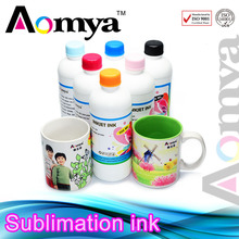 Aomya 100% buyer protection specialized Sublimation Ink for Epson 1400 for cotton fabric
