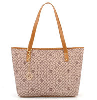 2014 fashion women's printed tote bags & pu leather hand bag for ladies