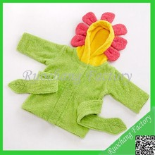 Lovely Pictures of Baby in Hooded Bathing Suits Wholesale
