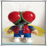 plastic animals bee vinyl figure toy, custom plastic animals vinyl figure, custom plastic animals vinyl toy