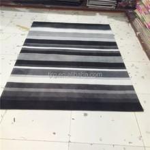 stripe plain nonslip fashion custom rug