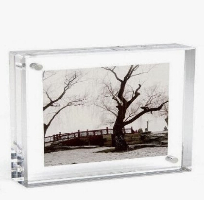 Wholesale clear plexiglass acrylic plastic picture frame