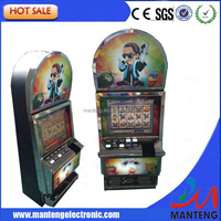 2015 arcade amusement gambling jackpot slot game machine for bar