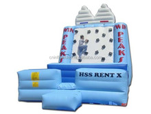 custom inflatable rock climbings, inflatable climbing wall/slide/mountain