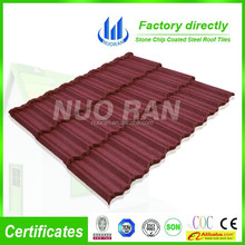 Nuoran Asphalt Galvanized machines metal sheet roofing price