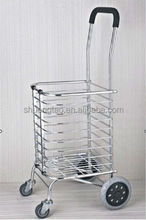 foldable hand trolly , foldable shopping hand cart