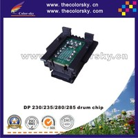 (TY-X211D) compatible drum counter reset chip for Xerox DocuPrint DP 210 211 181 180 DP210 DP211 DP181 DP180 BK 10k pages