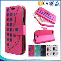 china supplier flip leather mobile phone case for blu play mini,flip cover case for blu play mini