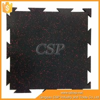 recycled rubber tiles/interlocking rubber tile/outdoor basketball court rubber floor tile