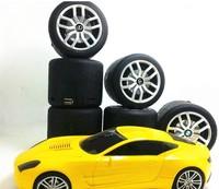 Low Price Swivel Black Tyre Speaker