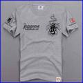 Fabricante de roupas de t oem moda algodão de manga curta t-shirt personalizado de alta qualidade