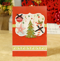High quality new year greeting cards with best wishes professional factory