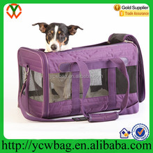 fashion pet sleeping bag/pet carry cage airline approved
