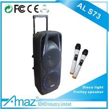double 10 inch amplifier module for active speaker/party speaker